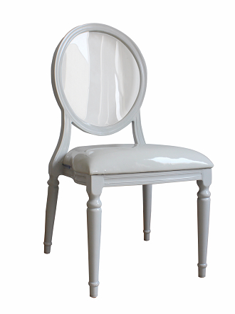 china antique acrylic clear banquet stacking louis chair dining