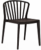 China new design modern outdoor garden dining chair plastic windsor