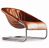 China replica Minotti coortina sofe chrome metallounge armchair