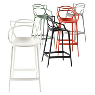 China Replica Plastic Kartell Masters Bar Chair Stool