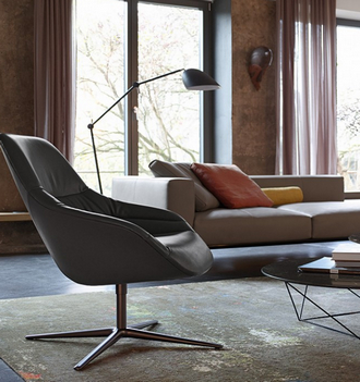 china replica copy soft leather kyo lounge chair