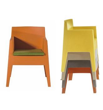 china replica modern design stackable driade toy chair