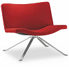 China replica steel swivel tonon wave chair