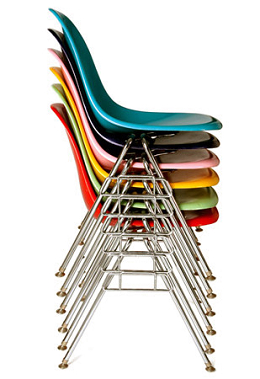 China replica copy vitra eames dss chair stacking for Replica vitra eames