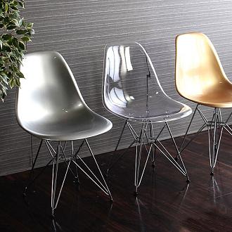 replica vitra ghost clear eames dsr chair