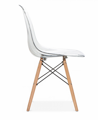 China vitra ghost clear eames dsw chair - Eames ghost chair ...