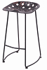 China industrial metal seedpod bar stool