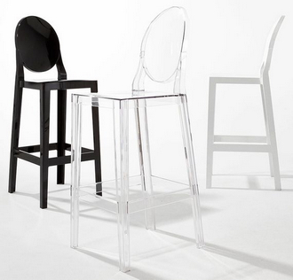 china replica kartell one more ghost stool