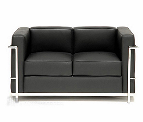china modern design knoll lc2 sofa love seats