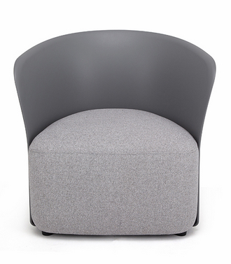 china modern design plastic armchair full soft lounge upholstered arm chair