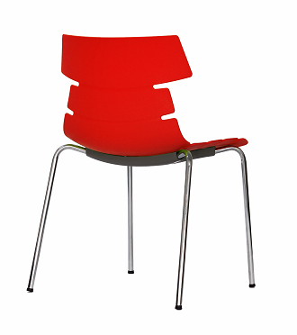 China modern design pp plastic dining chair