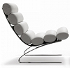 China replica modern design steel sinus lounge chair