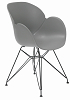 China modern design plastic dining armchair