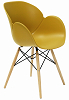 China new modern design plastic eames dining armchair