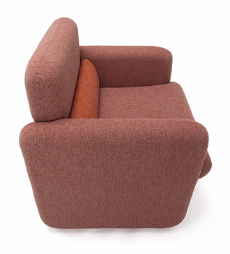 china modern simple style fabric linen lounge armchair