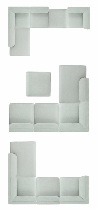 china modern simple fabric linen section sectional sofa
