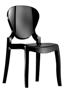 China Replica Pedrali Clear Acrylic Queen 650 Ghost Chair