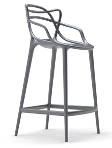 China Replica Plastic Kartell Masters Bar Chair Stool