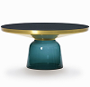 china replica modern design glass bell coffee table
