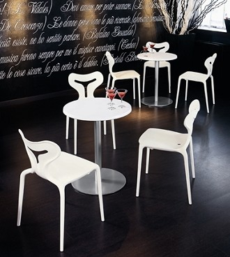 China Replica Italy Calligaris Outodor Stack Area 51 Chair