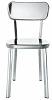China Modern design Metal Stainless Steel Chrome  Deja VU Chair