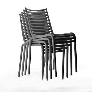 China Replica Driade Stackable Plastic Outdoor Pip E Chair