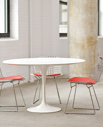 China Replica Outdoor Fiberglass Tulip Table - Saarinen outdoor dining table