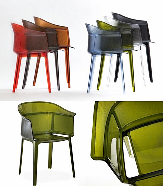 Italy Modern Kartell Papyrus Chair Dining