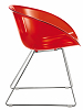 China Replica Pedrali PC Plastic Gliss Chair
