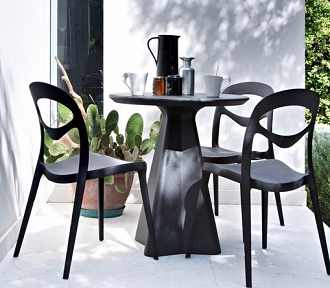 china replica modern design stackable outdoor plastic for you chair