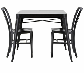 China replica stackable tolix table
