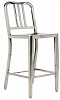 China Replica Metal Stainless Steel Chrome Navy Bar Stool