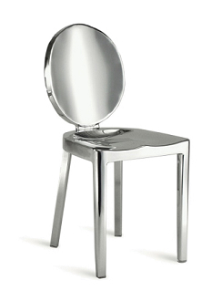 China Modern Design Metal Stainless Steel Chrome Emeco Kong Chair