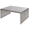 china chrome steel amici coffee table