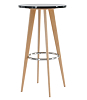 china tabouret haut wood bar table
