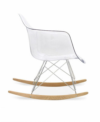 Fantastic China Replica Vitra Clear Ghost Eames Rar Rocking Chair Gmtry Best Dining Table And Chair Ideas Images Gmtryco